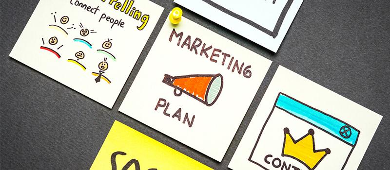 Qual é o papel do marketing de conteúdo em uma estratégia de vendas?